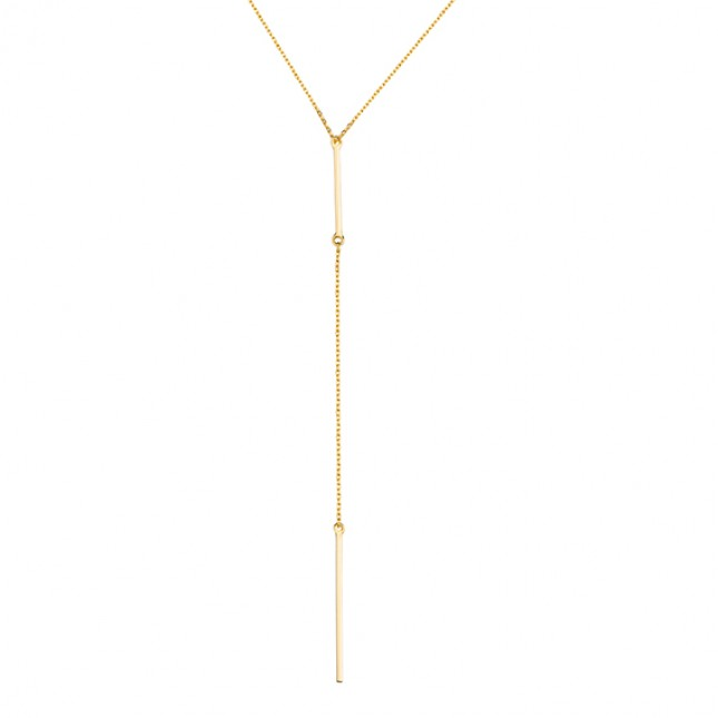 GOLD TIE NECKLACE