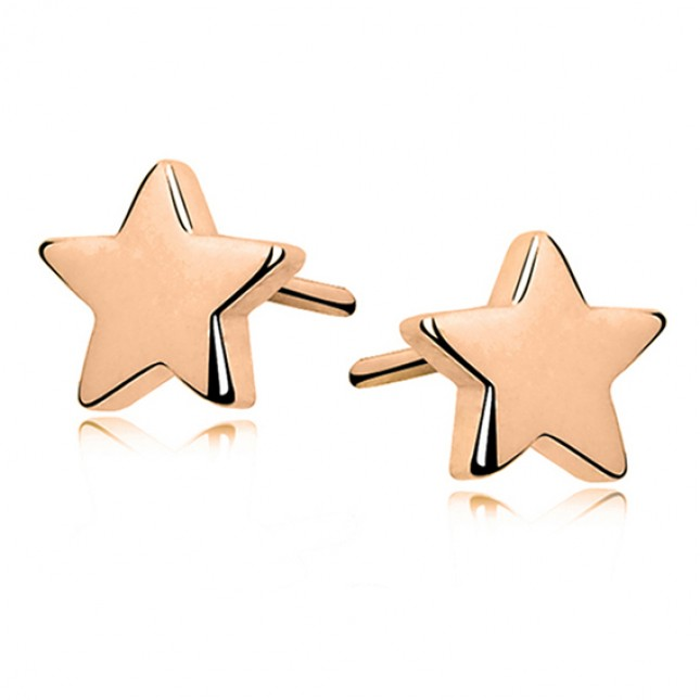 GOLD STAR EARINGS