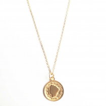 COIN GOLD NECKLACE