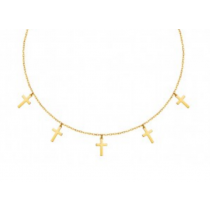 CROSS GOLD CHOKER