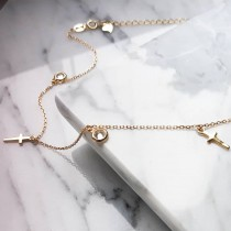 CROSS DIAMOND CHOKER