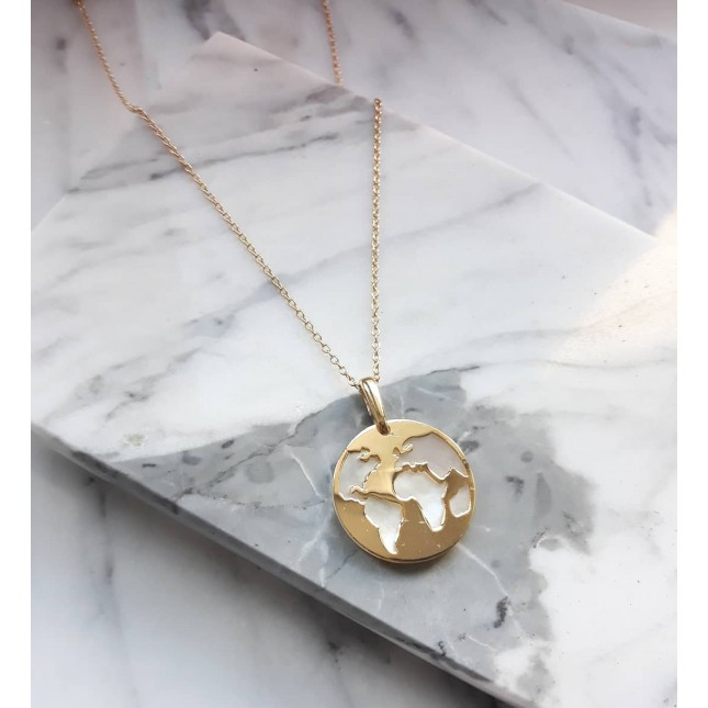 WORLD GOLD PEARL NECKLACE