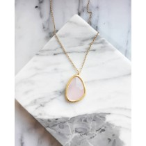 ROSE STONE NECKLACE