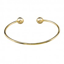 GOLD OPEN BANGLE