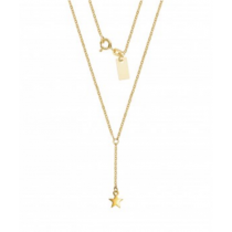 LONG STAR NECKLACE
