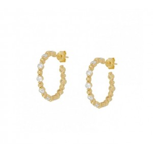 ALICE GOLD HOOPS