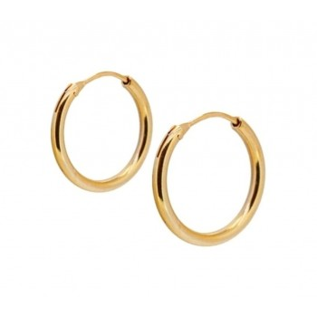GOLD CLASSIC HOOPS